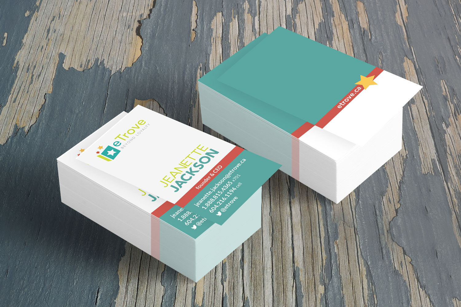 eTrove Business Cards